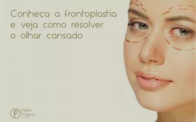 Conheça a frontoplastia e veja como resolver o olhar cansado