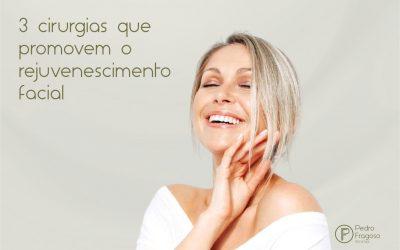 3 cirurgias que promovem o rejuvenescimento facial